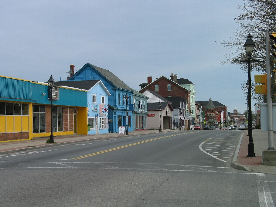 Downtown Yarmouth, the colorsyarmouth town